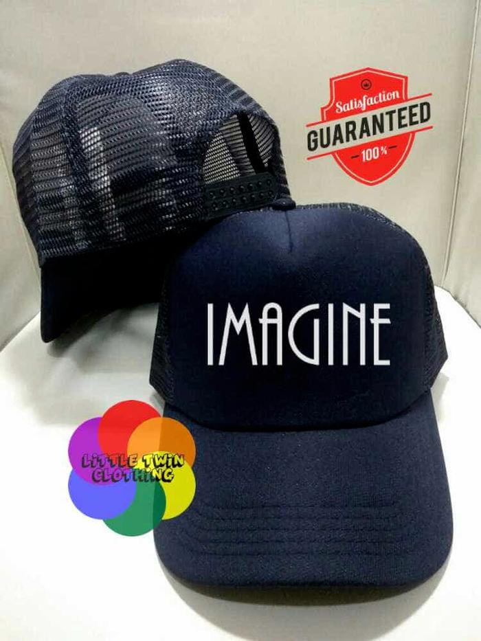 TOPI TRUCKER IMAGINE F6 -  PEKING KARDUS  PEKING KARDUS BIGHEL CLOTHIN