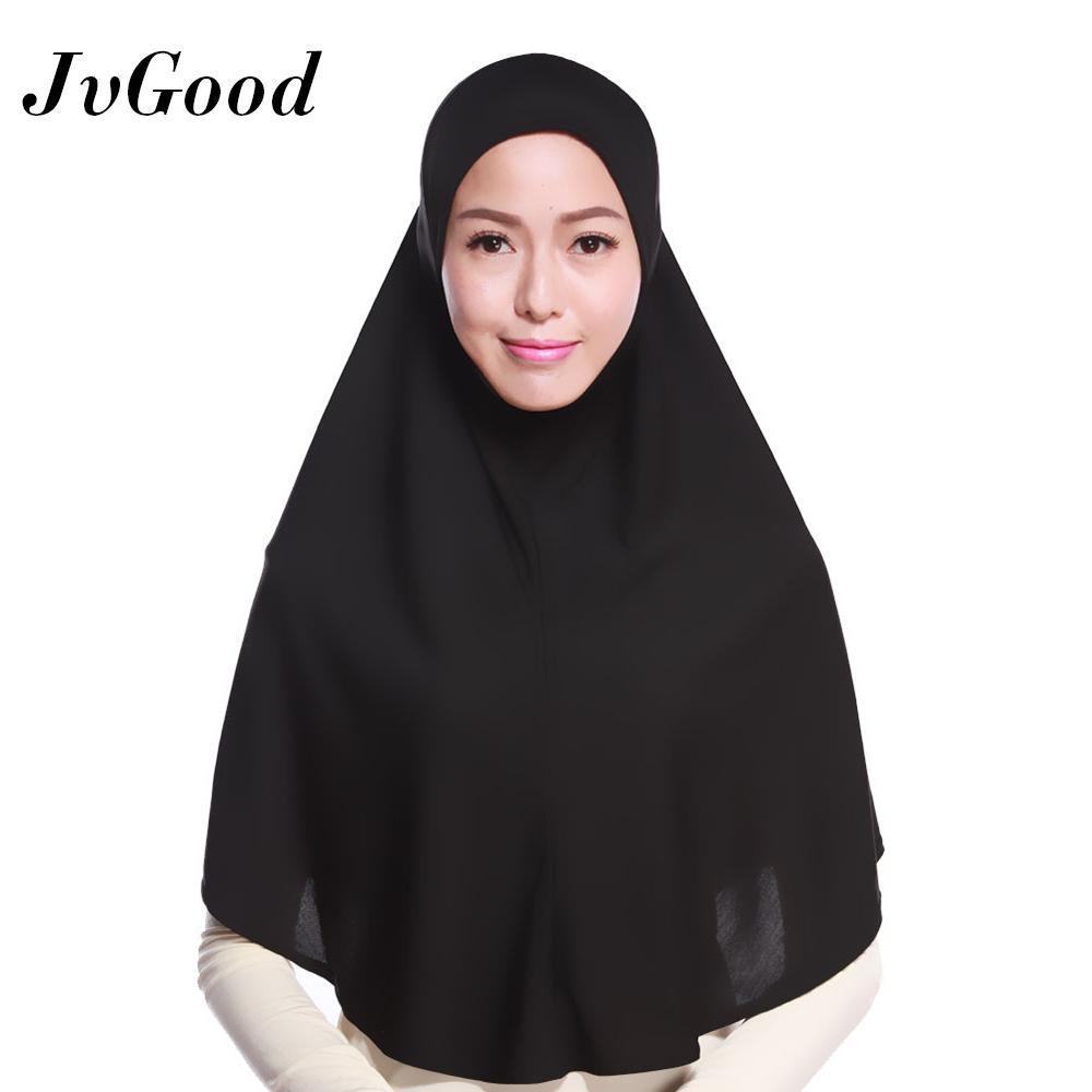 JvGood Hijab Kerudung Instan Hijab Khimar