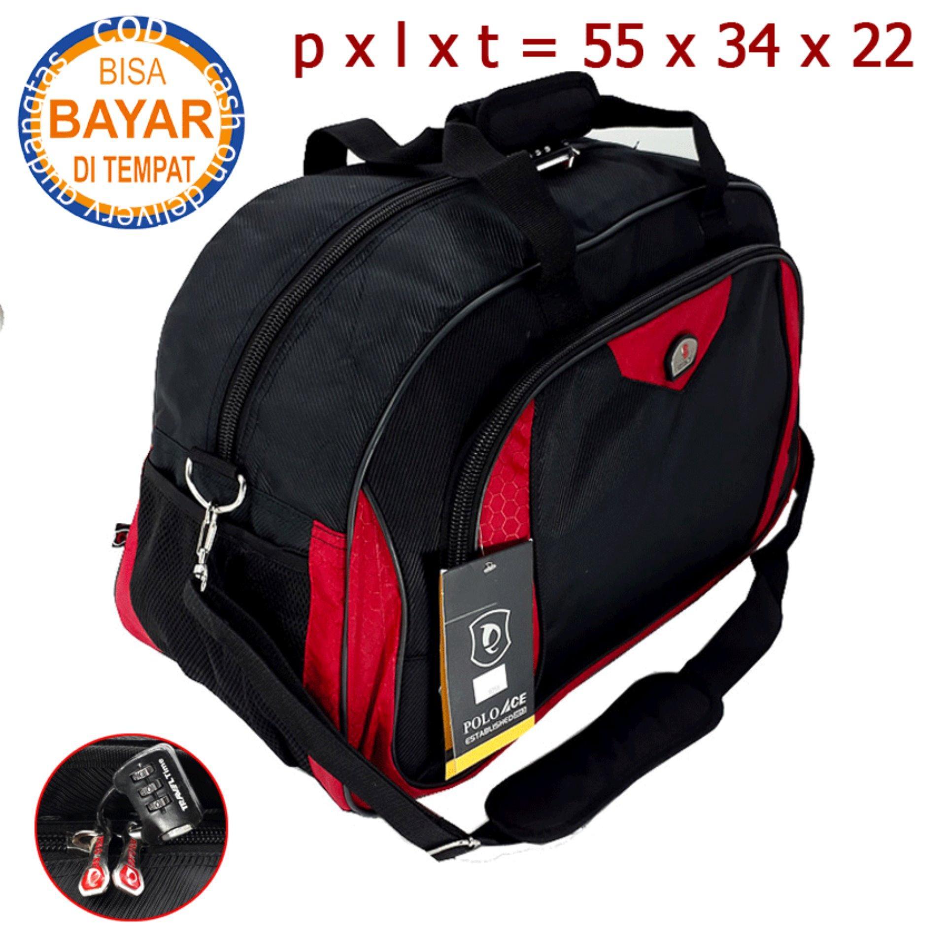 Polo ACE Travel Bag Tas Pria Tas Wanita Tas Pakaian Double Fungsi Tas  jinjing Tas SelempangGDT9058 09703a679e