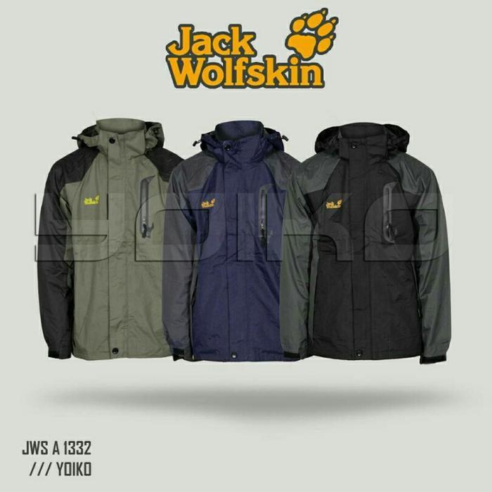 Jaket Gunung Outdoor Jack Wolfskin A1332 Goretex