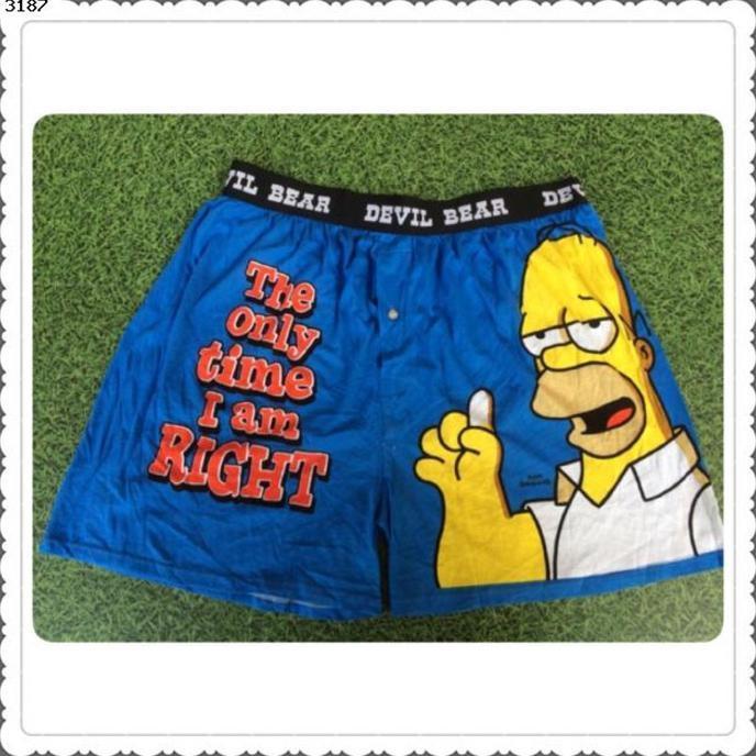 Celana Boxer Kaskus Celana Boxer Simpsons The Only Time - 4Jmtjq