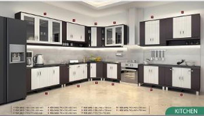 Kitchen Set Atas KSA 2652 Diskon