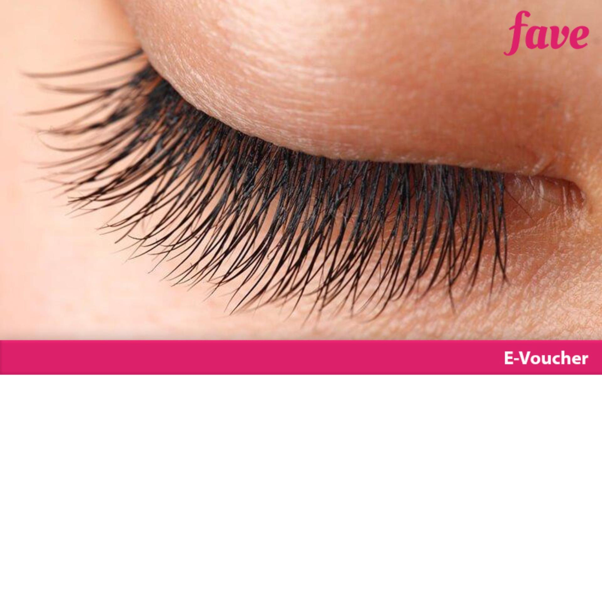 [mall Ambassador] Aurel Hair & Beauty 1x Eyelash Extention Korean + Free Sikat Eyelash + 1x Retouch By Fave Indonesia.