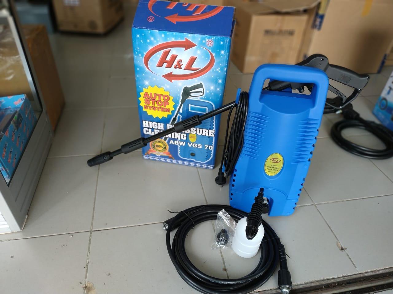 Mesin Cuci Motor Dan Mobil / Alat Steam Cuci Motor & Mobil ABW VGS 70 H&L