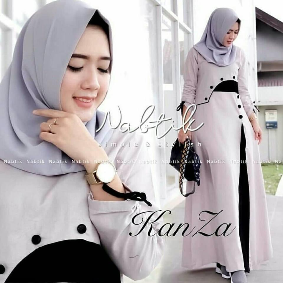 baju muslim, gamis cantik, baju wanita muslimah good quality  genie fashion