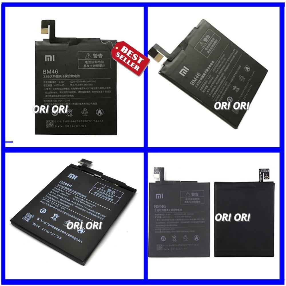 Xiaomi Baterai / Battery Redmi Note 3 / BM46 Original - Kapasitas 4050mAh ( ORI_ORI )
