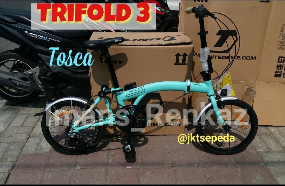 Sepeda Lipat UNITED TRIFOLD 3 Internal Gear