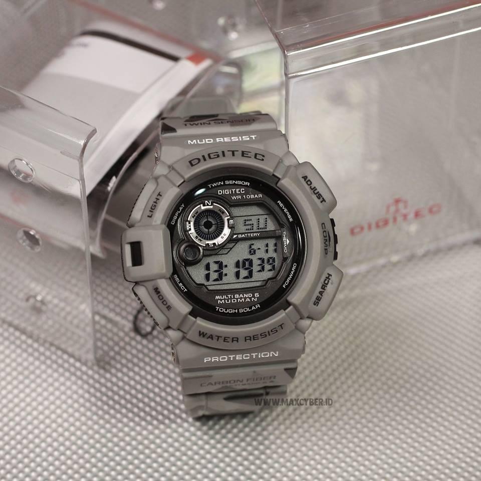 jam tangan pria loreng digital DIGITEC bestseller original bandung bisa hangout pesta ngampus dan bisa dibawa renang  termurah