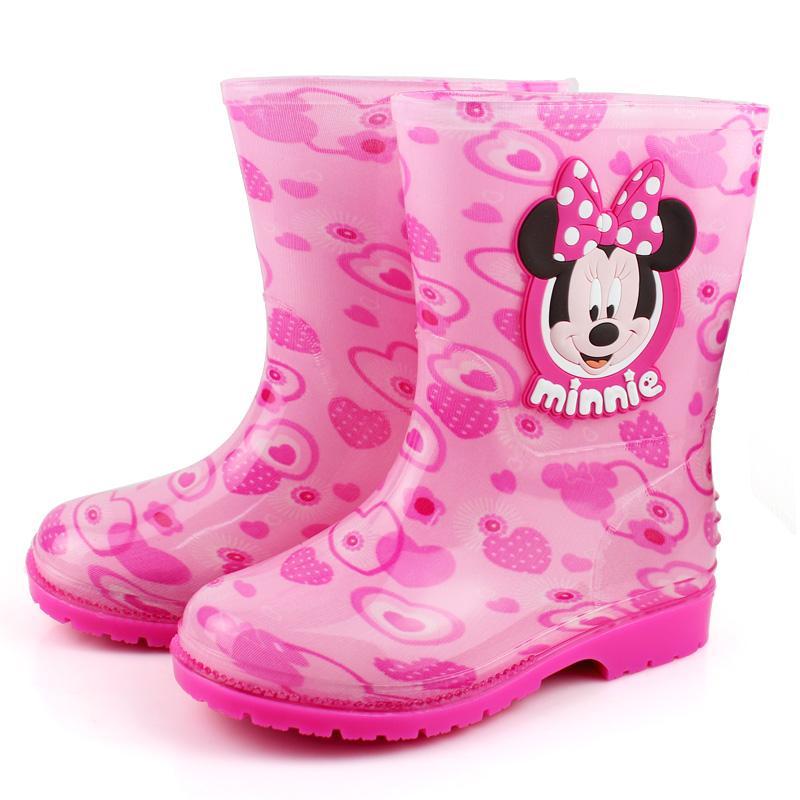 ... Disney Sepatu Boots Hujan Kartun Sayang Sepatu Karet Imut Anak