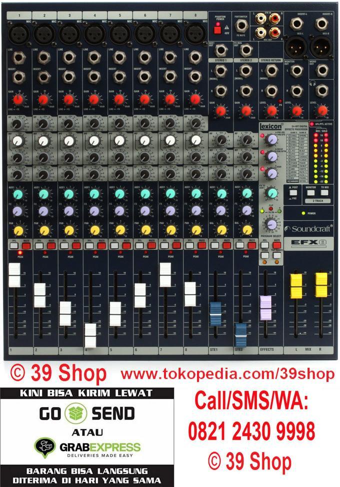 ORIGINAL  Mixer Audio SOUNDCRAFT EFX 8 (8 Channel)
