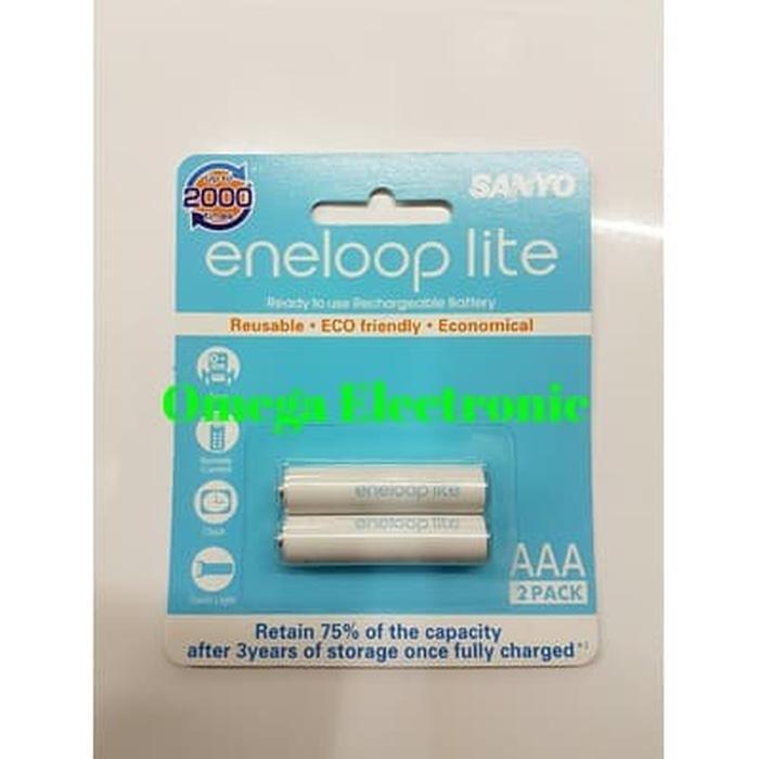 Best Seller Baterai Sanyo Eneloop Lite AAA 600Mah Rechargeable