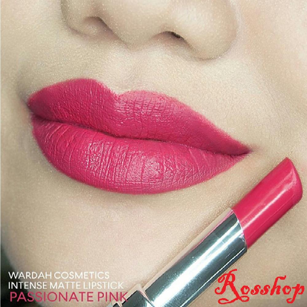 Wardah Intense Matte Lipstick - 07 Passionate Pink