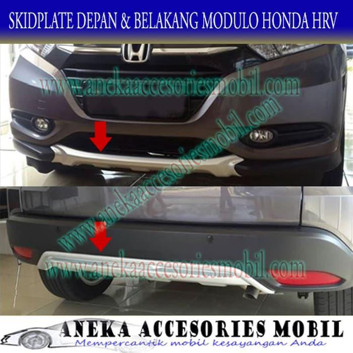 Promo   Skidplate/Skid Plate/Bumper Lower Depan dan Belakang Modulo Honda HRV   Original