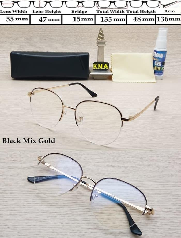 NEW PROMO kacamata korea kacamata minus frame kacamata minus frame metal korea TERLARIS