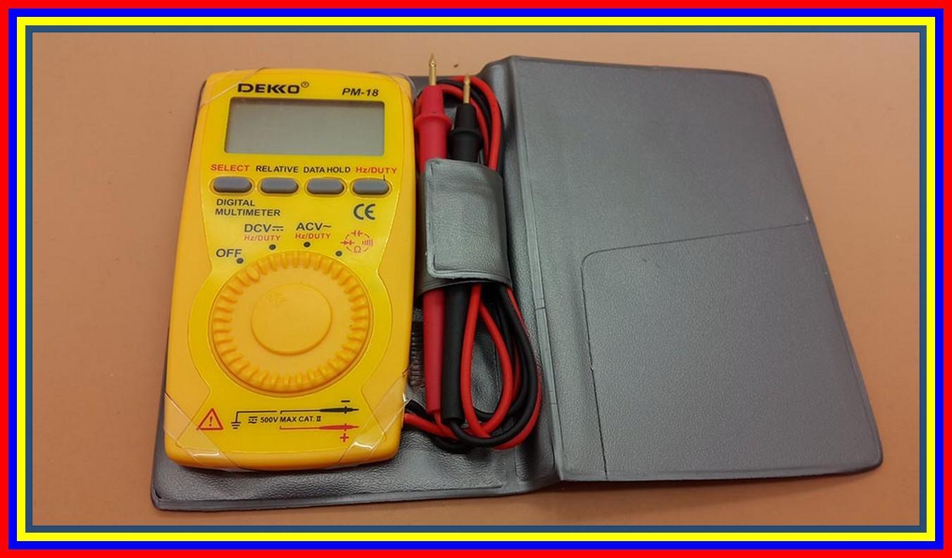 Buy Sell Cheapest Multitester Digital Dekko Best Quality Product Avo Meter Dm 133d High Pm18 Pocket Type