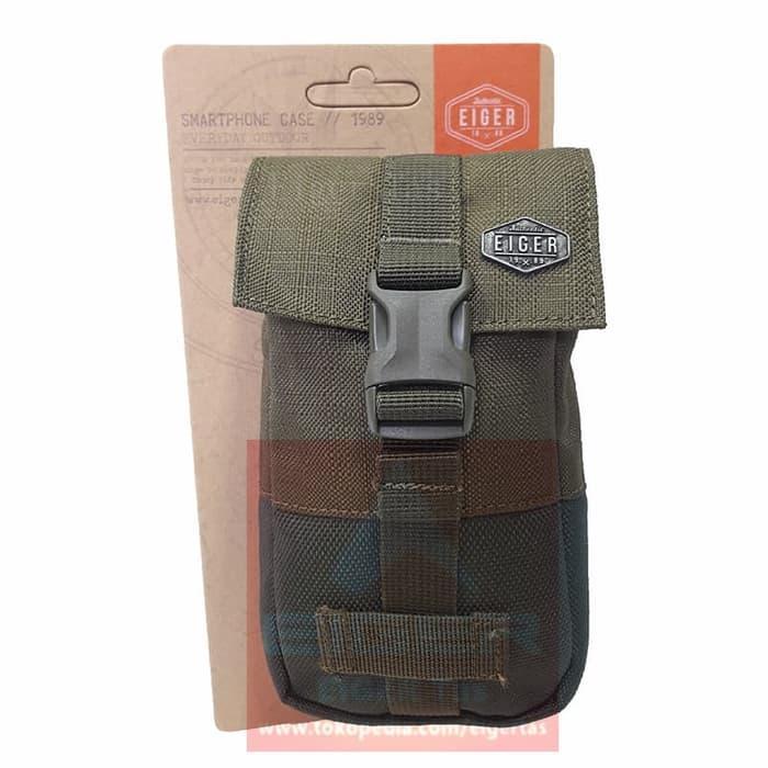 ASLI!!! Tas Hp Eiger 910003419 Olive Crafter Lite Smartphone Case - Waist Bag - 0rXivQ