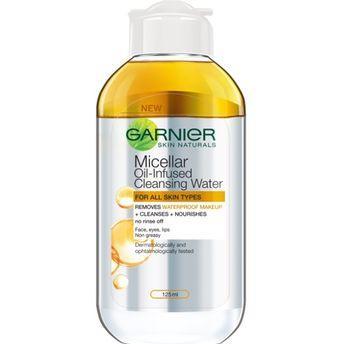 Garnier Micellar Oil Infused Cleansing Water 125ml