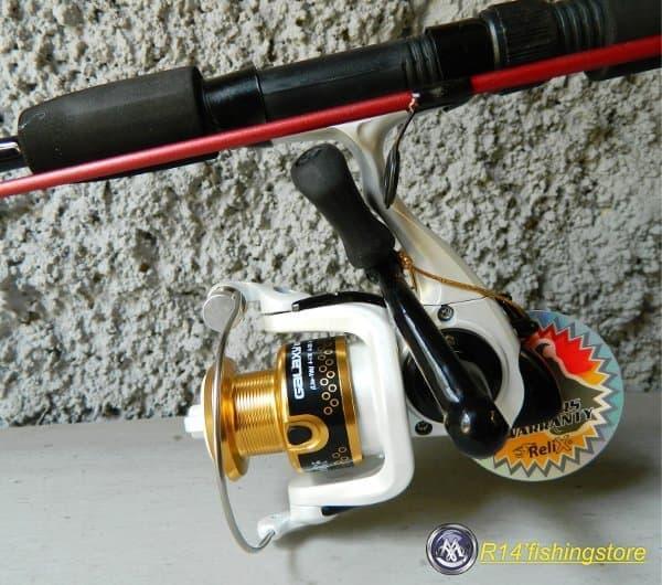 Harga Spesial!! Set Joran Dan Reel Pancing Relix Galaxy Sealion Extra - ready stock
