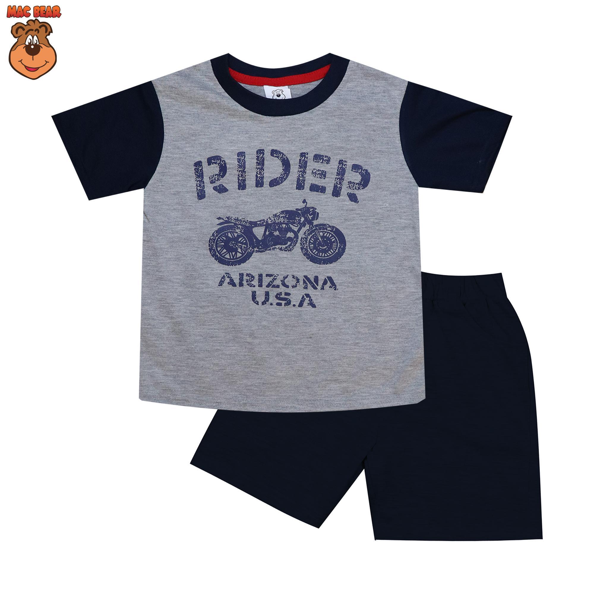 MacBear Kids Baju Anak Setelan Rider Arizona