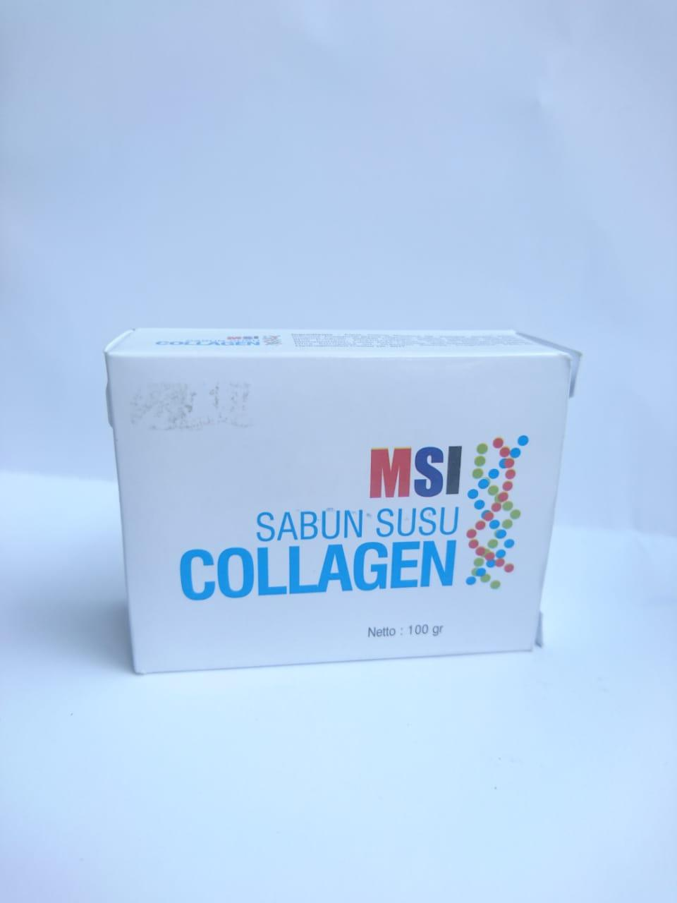 Buy Sell Cheapest Sabun Collagen Msi Best Quality Product Deals Susu