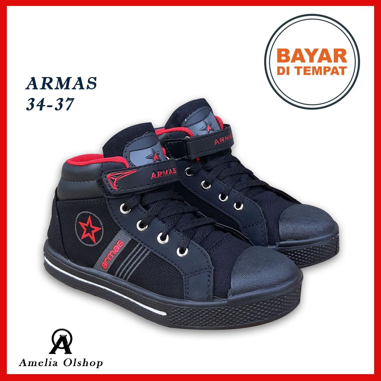 Amelia Olshop - Sepatu Sekolah Anak ARMAS 34-37   Sepatu Sekolah Anak SD   04b4da03b7