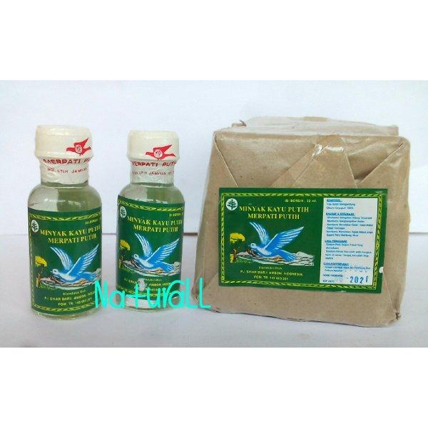 Minyak Kayu Putih Merpati Putih Asli Ambon 22 ml Per Lusin (12 botol)