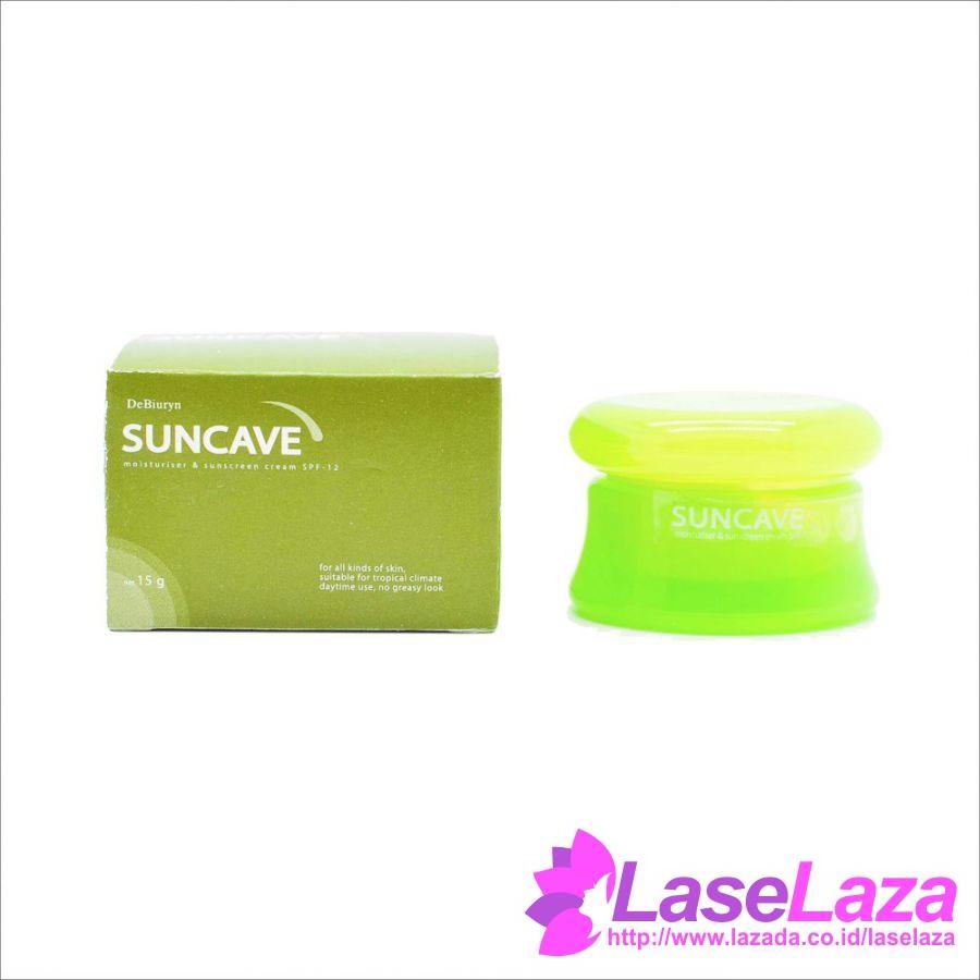 Debiuryn Suncave - Face Sunscreen - Sunblock - SPF 12 - Tabir Surya - Tirai Matahari Wajah - 15 g Perawatan Kulit Promo