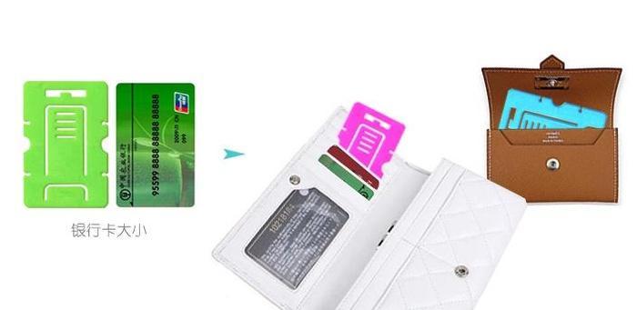 Kartu Plastik untuk Penyangga Gadget dan Penggulung Kabel