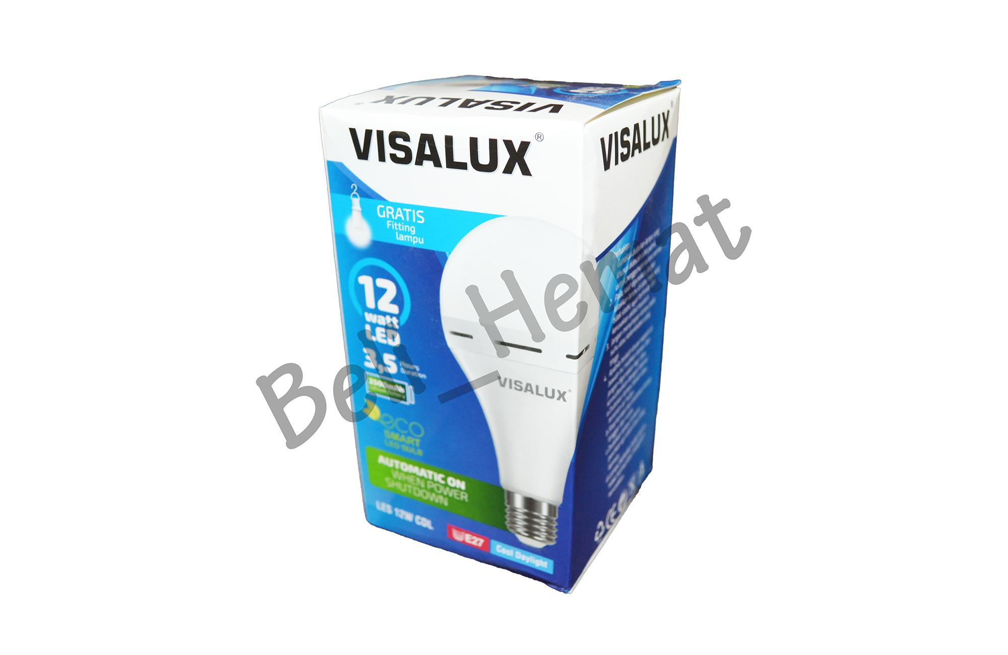 VISALUX Emergency LED Smart LES 12W E27 CDL