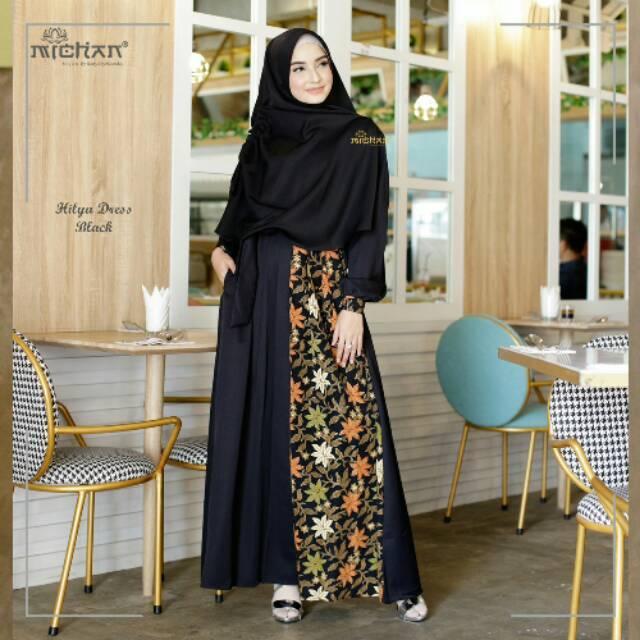 List Harga Gamis Batik Kombinasi Syari Terbaru Batik Indonesia