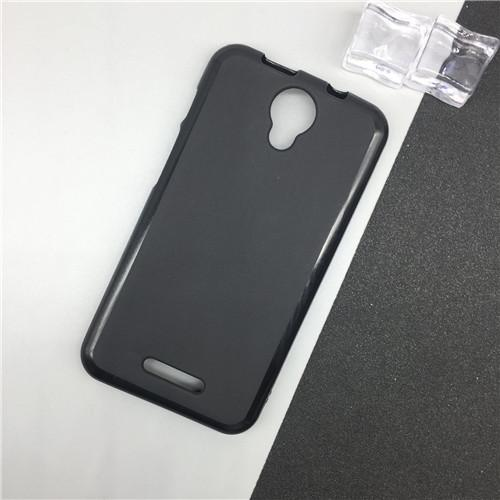 1 Pc/lot Silicone Phone Cases for Alcatel One Touch Pixi 4 5.0 3G Version OT 5010 5010D Original TPU Back Cover Pudding Case Capa Black - intl