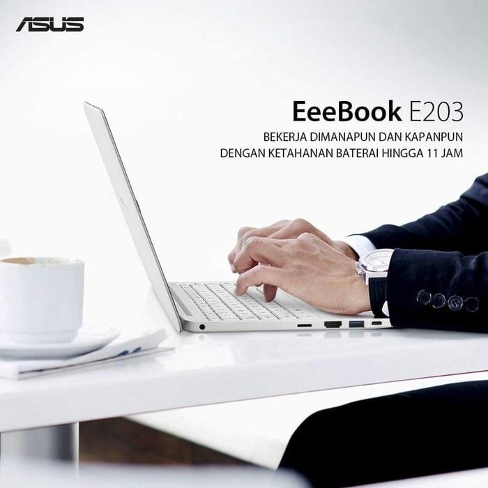Notebook Asus E203NAH 11in Ram4Gb Include Windows 10 Original Garansi Resmi