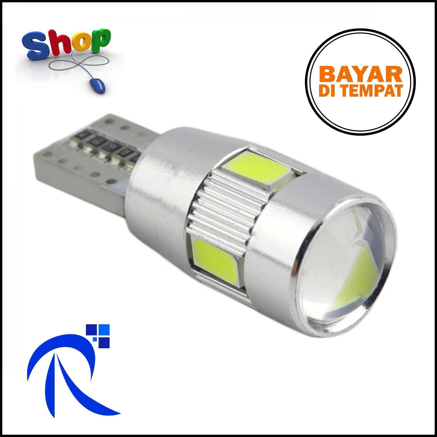 Buy Sell Cheapest 6x6 T10 5630 Best Quality Product Deals Lampu Fog Light Mobil Led H3 Smd 2pcs Rimas Rem W5w White Putih Brake