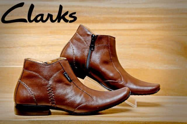 Clarks high Leather T21 6319 - 8z2Hwa