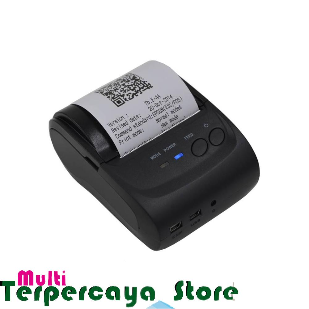 The Cheapest Price Printer Kasir Bluetooth Ultron Cx 58d Support Android Desktop Thermal Receipt Mini Portable Zjiang