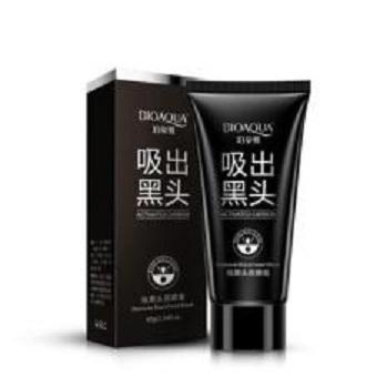 Bioaqua Carbon Active Charcoal Black Mask / Masker Pengangkat Komedo Original - 1pcs