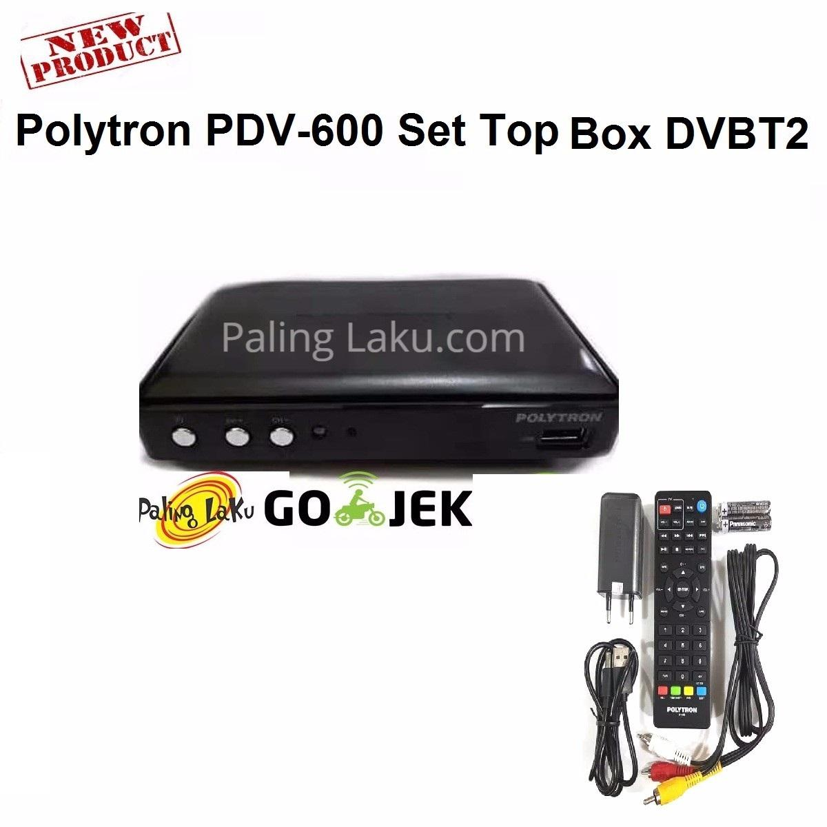 Polytron PDV-600 Set Top Box DVB T2