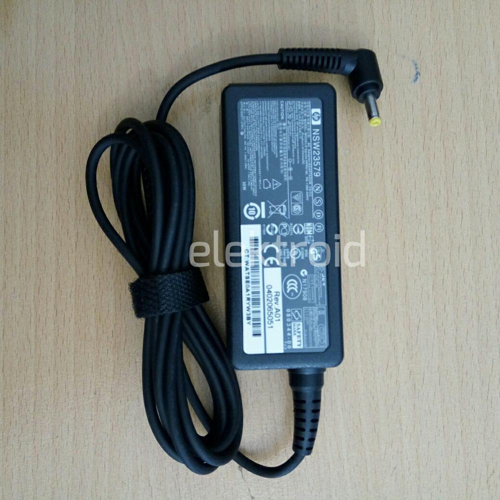 Adaptor HP mini 110-3000 110-1000 210-1000 210-2000 19V 1.58A Original di lapak elektroid elektroid