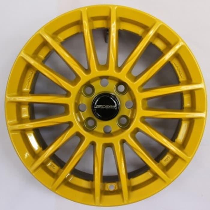 PROMO Rep spoon CR93 R15 Yellow + Ban Falken 4 pcs