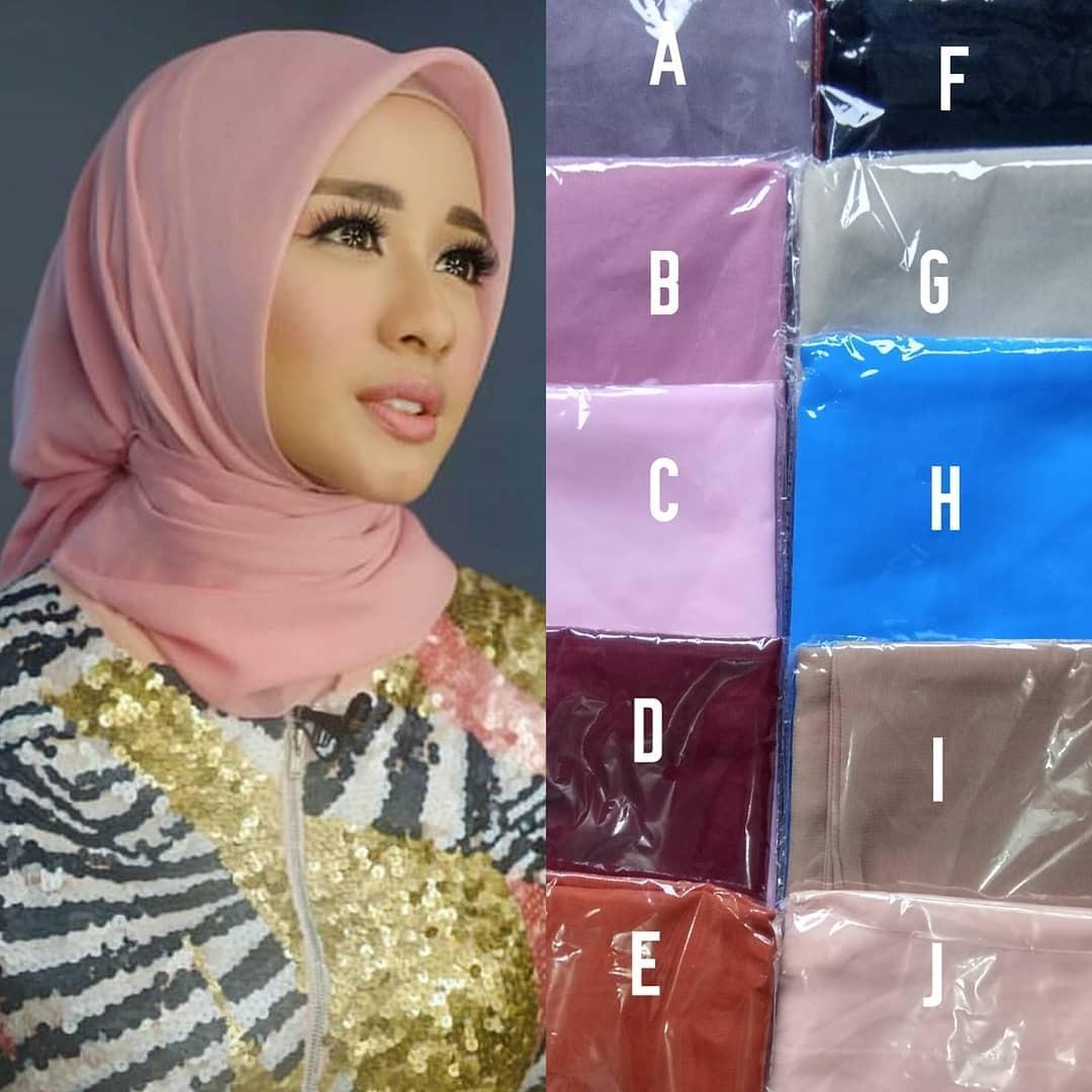 Hijab Kerudung Segiempat Hicon Fine Bella Termurah dan Terlaris