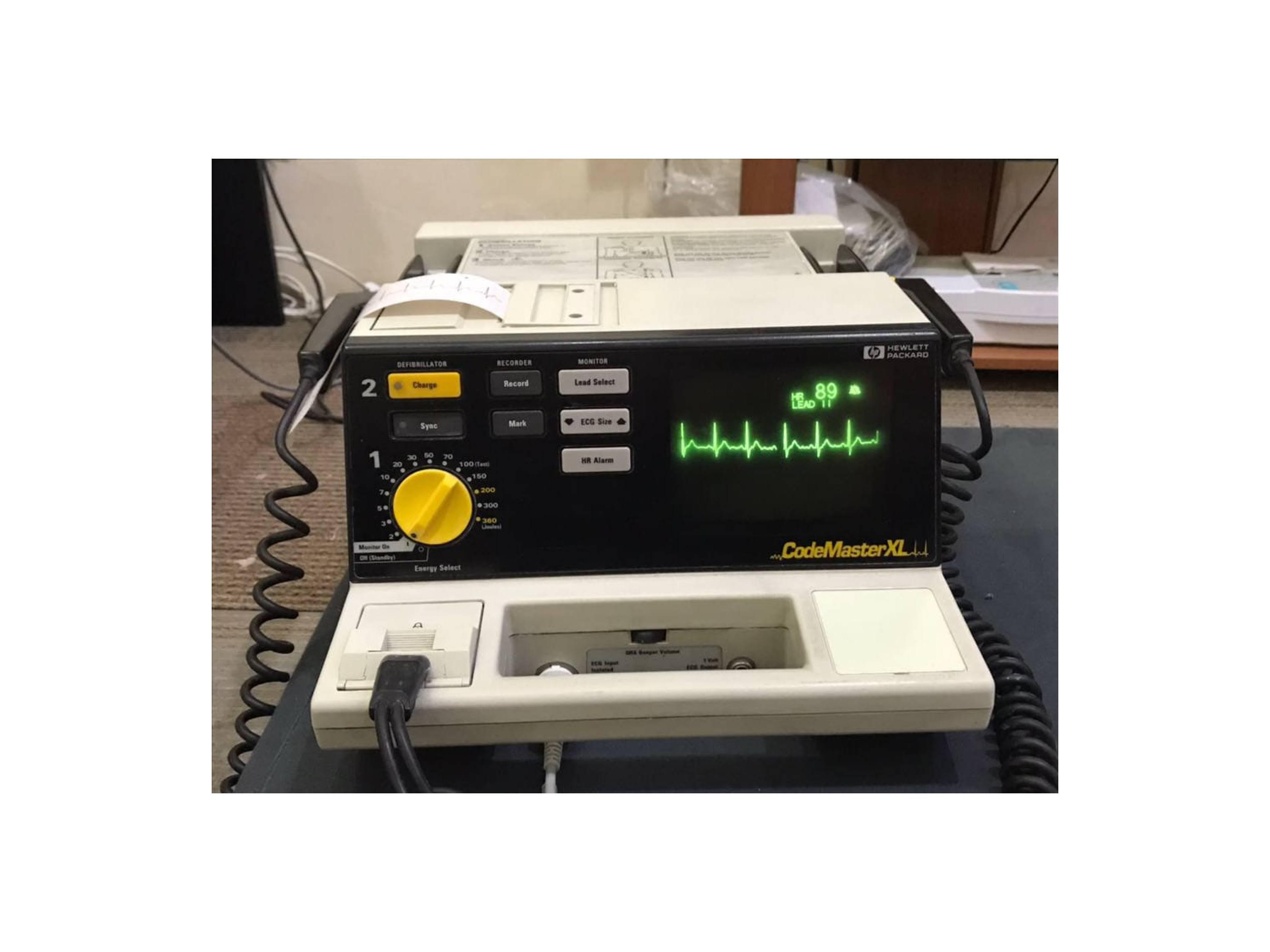 Sewa/Rental Defibrilator Monitor Manual