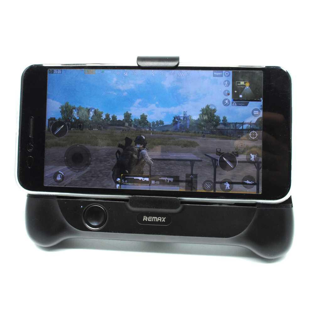 Remax Smartphone Cooling Gamepad -RT-EM01 - Black-Hitam FREE ONGKIR & Bisa COD