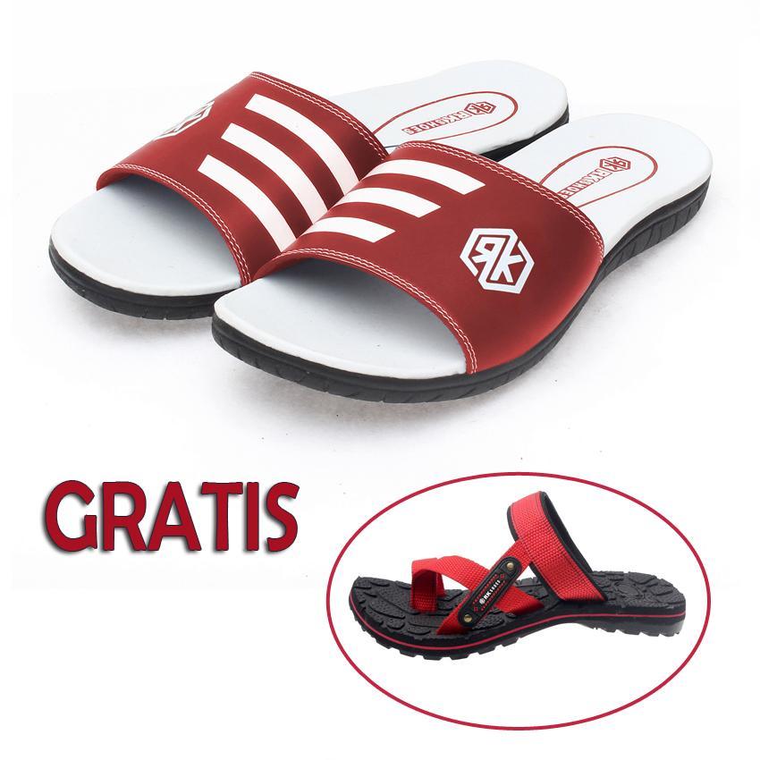 Kaiko / RK shoes sandal pria / sandal pria kulit / sandal pria casual / sandal