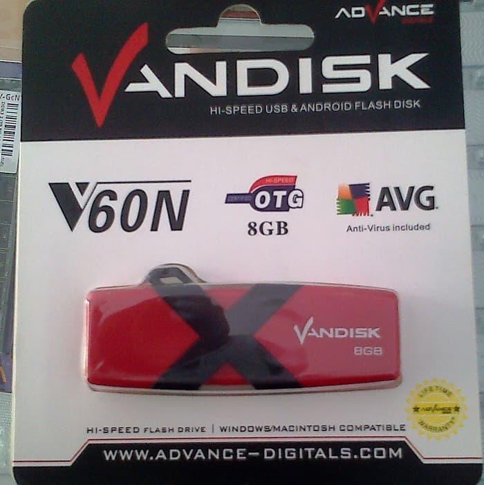 Harga Diskon!! Flashdisk Vandisk Advance 8Gb Otg - ready stock