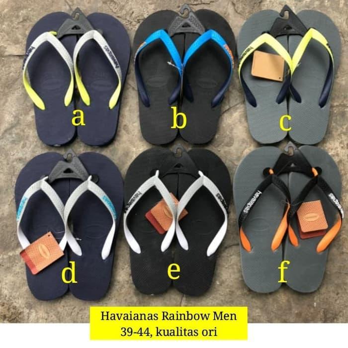 New!! Havaianas Rainbow Flip Sandal /  Fashion pria / Sendal / Sendal Jepit / Sendal santai / Sendal Murah / Sendal Bagus / Sendal Berkualitas / Sendal Trendy / Sendal Modern / Sendal kren pria / Sendal pria
