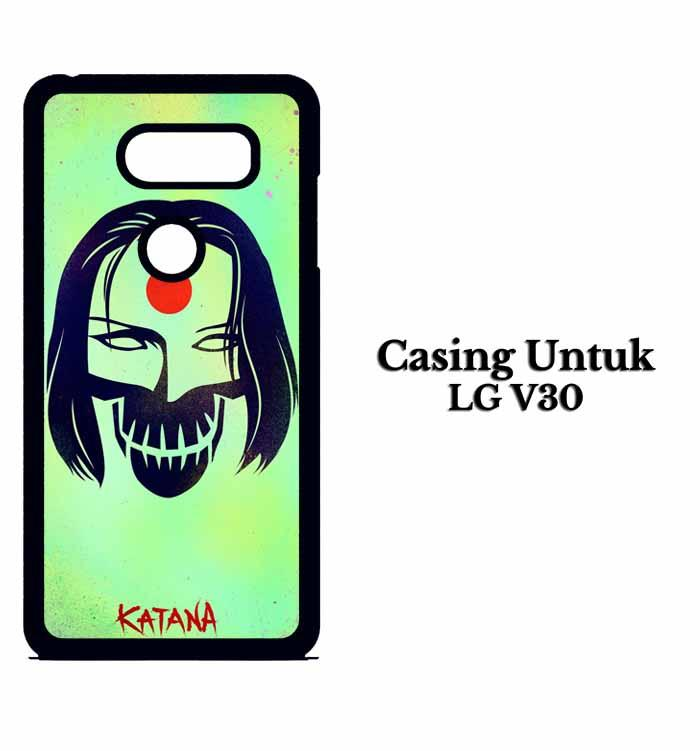 Casing LG V30 katana suicide squad Custom Hard Case Cover