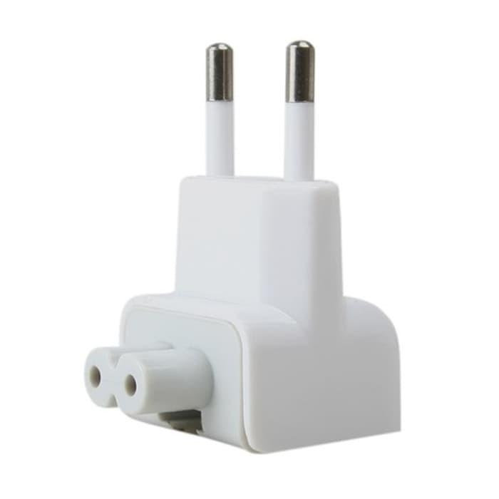 Sedang Diskon!! Adapter Pengganti Charger Macbook Eu Ac Plug Steker Indonesia - ready stock