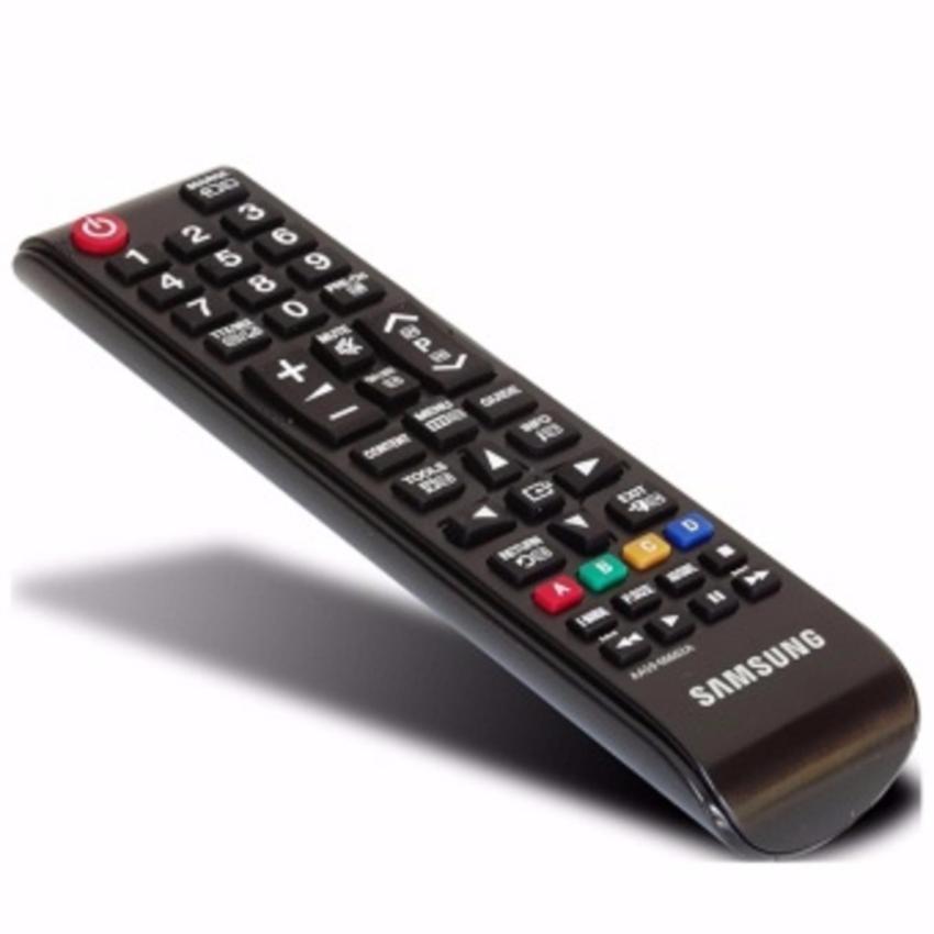 Remote TV Samsung Original 100% - Remot TV LCD LED - Hitam - LLS89