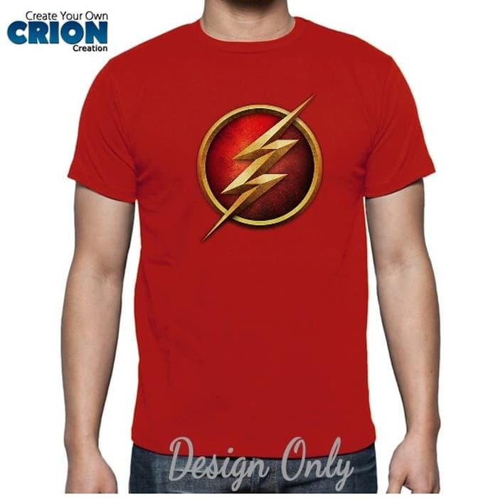 Kaos The Flash - The Flash Logo New - By Crion - whQi4W