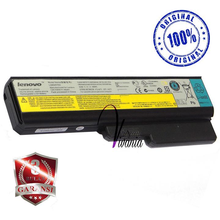 Baterai / Batre Laptop Lenovo B455 B550 G430 G450 G550 3000 Ori